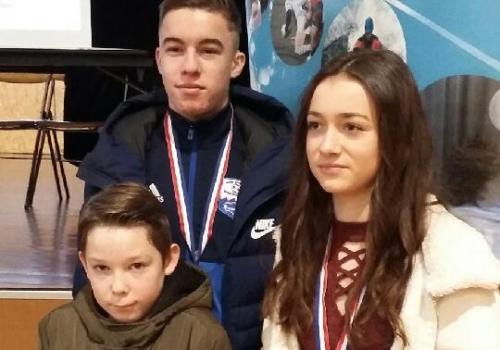 3 jeunes Guémenois récompensés
